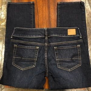 "American Eagle ""Artist"" crop jeans"